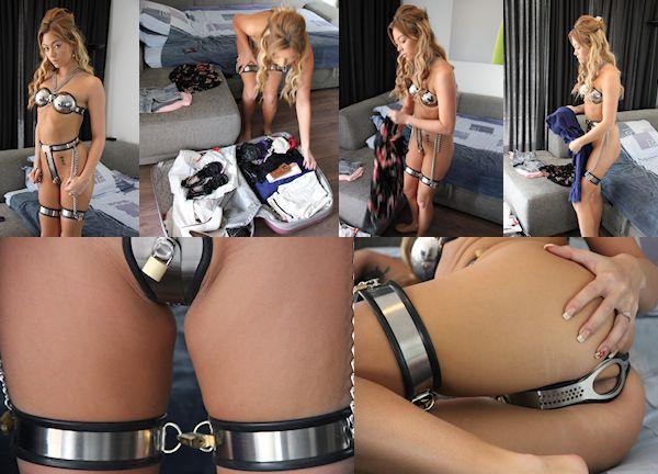 Chastity belt forrest Natalia