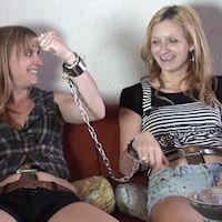 Silvie & Deborah – cuffed Challenge