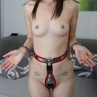 Donna handcuffed