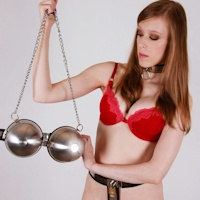 Cobie – custom chastity bra!