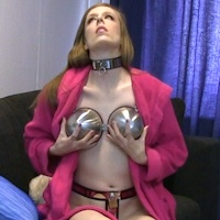 Cobie – custom chastity bra troubles