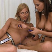 Satin and Tracy – vibrating eggs