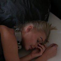 Darina – sleeping in heavy gear