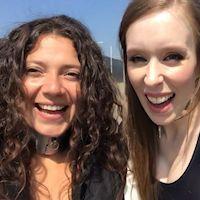 Cobie & Anahi - sunny day