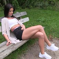 Little Caprice – outdoors