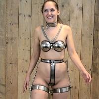 Rachel Adams tries full chastity