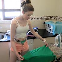 Cobie – laundry slave