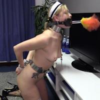 Lucy Lauren – chastity maid