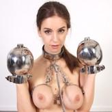 Stella Cox at metalbondage.com