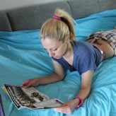 Donna – just reading