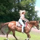 Wendy riding