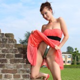 Nelly belted outdoors