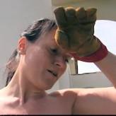 Yvette Costeau – hard labour