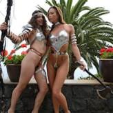 Natalia & Anahí – warrior shoot