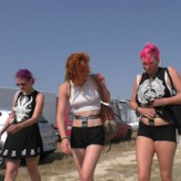 Chastity Holiday – in public